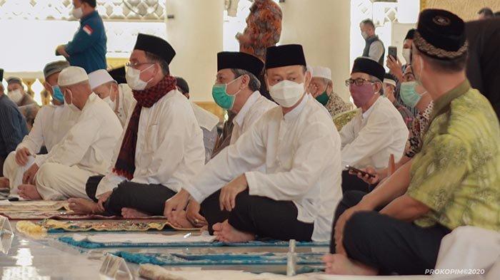 FOTO: Wali Kota Pontianak Salat Jumat Berjamaah di Masjid Raya Mujahidin