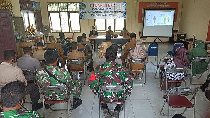 Gelar Rapat Evaluasi Penanganan Covid-19 di Kecamatan se-Kota Singkawang, ini Kata Tjhai Chui Mie
