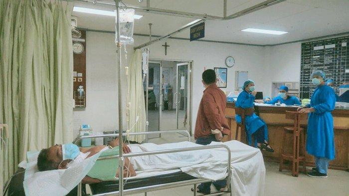 BREAKING NEWS - Mantan Kapolsek Mandor Meninggal Akibat Sabetan Benda Tajam! Perkelahian di Segedong
