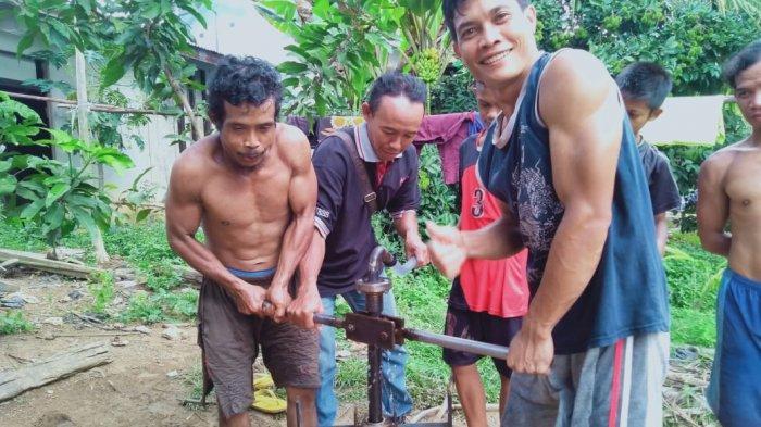 PT Agro Andalan Bersama Warga Buat Sumur Bor, Wujudkan Ketersediaan Air Bersih