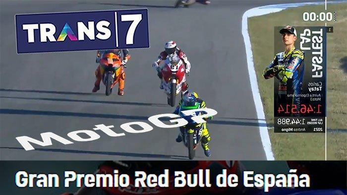 WARM Up MotoGp Moto2 di Jadwal MotoGp Jerez 2021 Trans7 Live Streaming MotoGp Trans7 Hari Ini Detik
