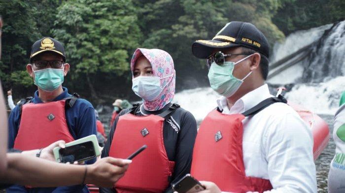 Wisata Riam Panggar Bengkayang Dikelola Menjadi Bumdes, Hadirkan Paket Wisata Arung Jeram