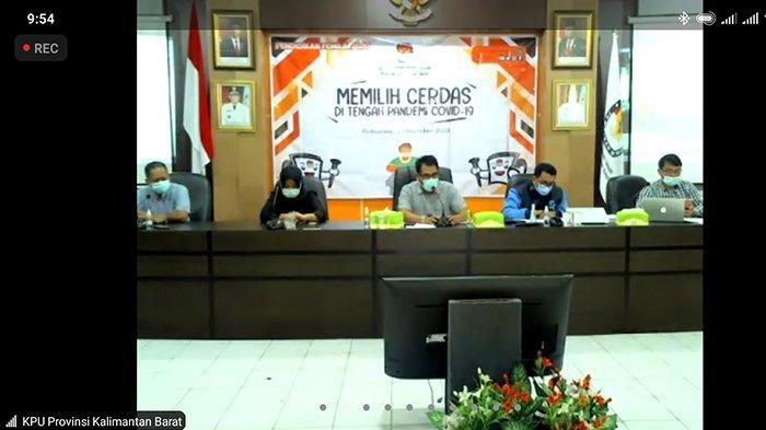 Komisioner KPU Kalbar Lomon Minta Masyarakat Tak Takut Datang ke TPS