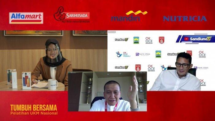 Alfamart & Danone Indonesia Latih UKM Sabang-Merauke, Sandiaga Uno: Kuncinya Kolaborasi dan Adaptasi