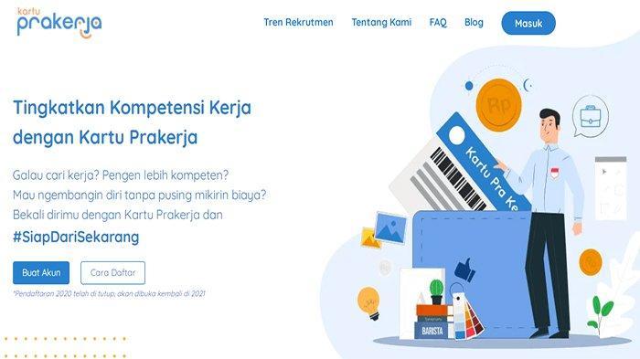 CARA Daftar Kartu Prakerja 2021 Gelombang 12, Login Prakerja.go.id Cek Syarat & Cara Daftar Online