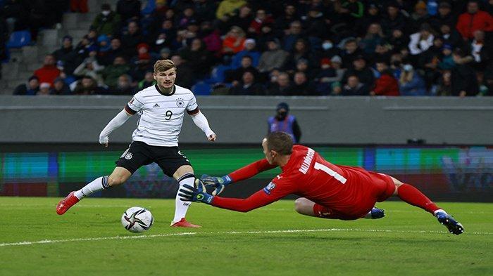 HASIL Kualifikasi Piala Dunia Tadi Malam, Albania Italia dan Jerman Pesta Gol, Kean Cetak Brace