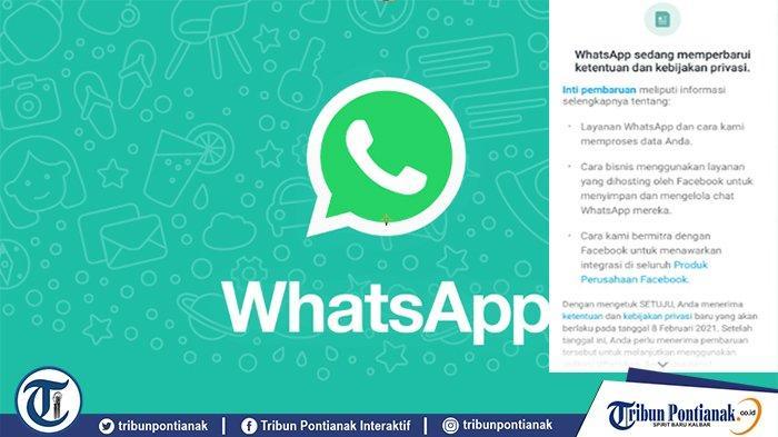 WHATSAPP Dihapus Permanen Jika Tidak Setuju dengan Aturan Baru - Cek New Update WhatsApp Tahun 2021