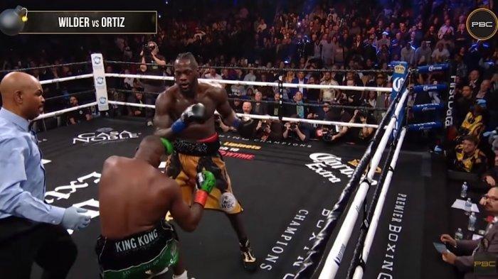 Cara Nonton Live Tinju Dunia Wilder vs Ortiz di Mola TV, Berlangsung Hari Ini Mulai Jam 11.00 WIB