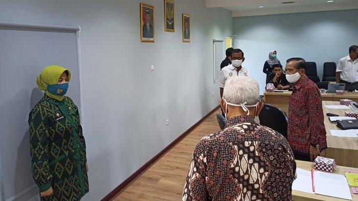Terima Kunjungan Kadisporapar Kalbar, Ini Permasalahan Yang Disampaikan Ketua KONI Fachrudin Siregar