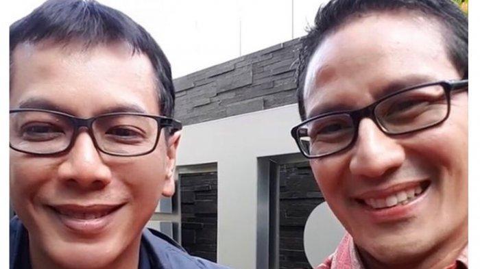 Wishnutama Ucapkan Selamat ke Sandiaga Uno yang Ditunjuk Jokowi Gantikan Dirinya Jadi Menparekraf