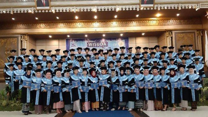 Wisuda Untan Mencapi 2500 Orang, Berikut Data Jumlah Lulusan Tiap Prodi Pada Sesi I