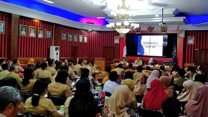 Workshop Pengukuran Kinerja PNS Pemkab Sanggau, Ini Pesan Sekda Kukuh Triyatmaka
