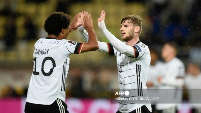 Klasemen Kualifikasi Piala Dunia Zona Eropa: Timnas Jerman Jadi yang Pertama Lolos ke Qatar