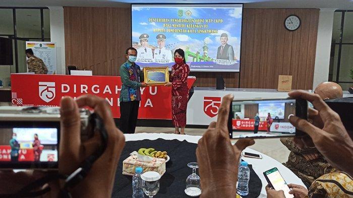 Pemkot Singkawang Terima Penghargaan WTP Ketiga, Berikut Pernyataan Tjhai Chui Mie