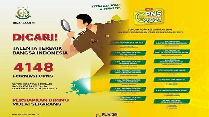 www.kejaksaan.go.id cpns 2021 Web Kejaksaan Agung CPNS 2021, Info Terlengkap CPNS Kejaksaan