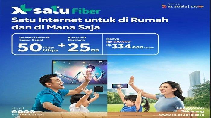 XL SATU Fiber, Inovasi XL Axiata Gabungkan Internet Rumah dan Seluler