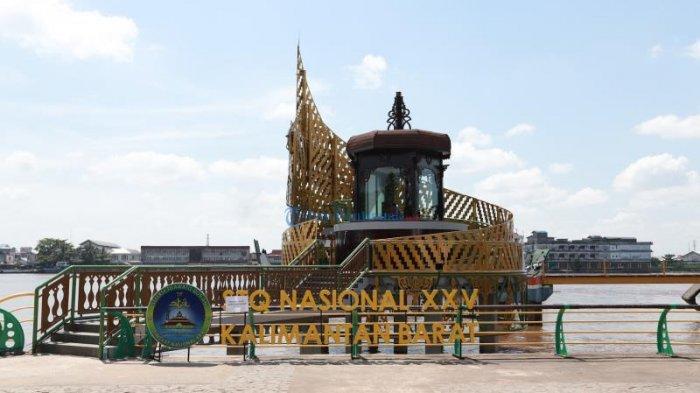 Pengunjung Stan Pameran Anggap STQ Nasional ke 25 di Pontianak Momen Langka