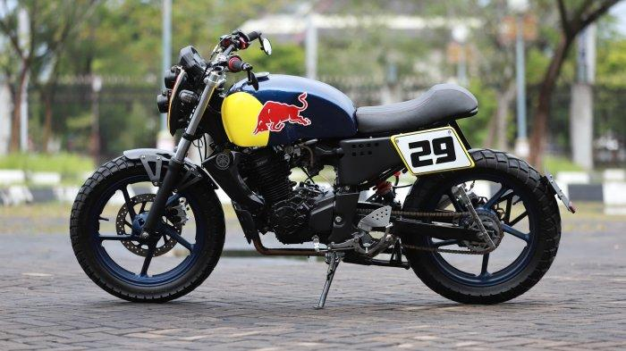 Modifikasi Yamaha Byson Bergaya Italyan Scrambler 29
