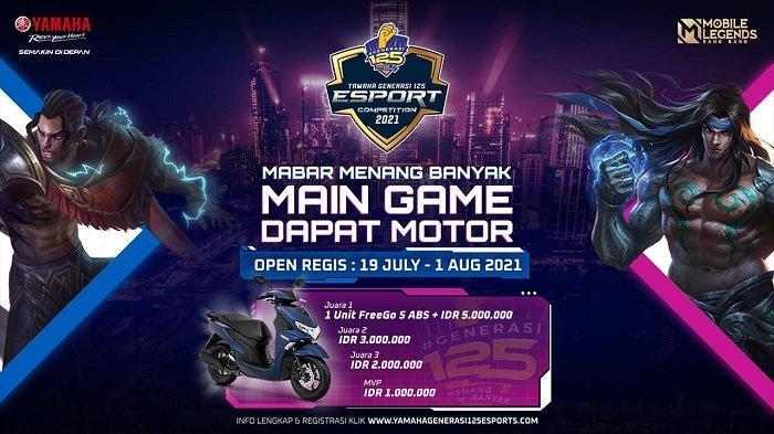 Yamaha Generasi125 E-Sport Competition 2021 Kembali Digelar 19 Juli-1 Agustus