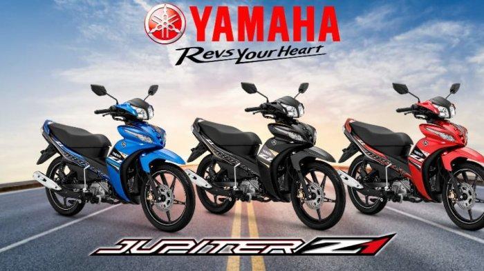 Yamaha Luncurkan Jupiter Z1 Warna dan Striping Baru, Makin Sporty Modern