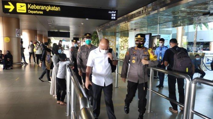 Antisipasi Arus Balik, Polres Kubu Raya Tempatkan Personel di Bandara, Pelabuhan dan Terminal