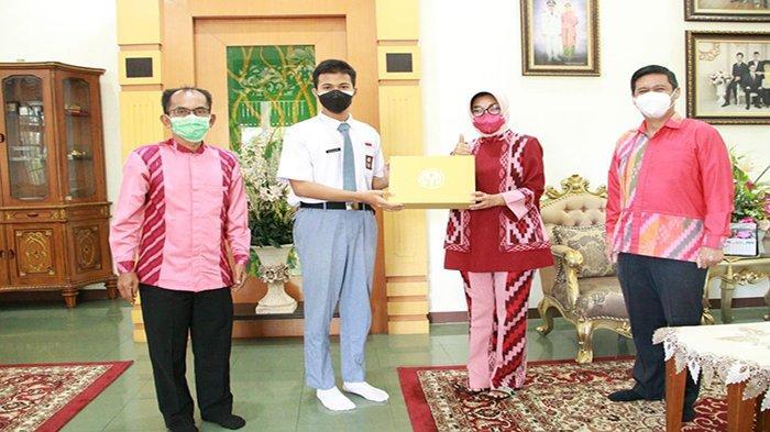 Falih Pangestu, Pelajar Asal Pontianak Wakili Kalbar Menjadi Calon Paskibraka Tingkat Nasional
