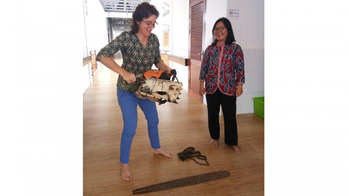 Tekan Illegal Logging Yayasan ASRI Buat Tugu Dari Senso