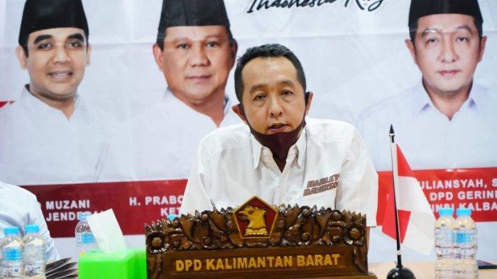 Menghadapi Pemilu 2024, Begini Kata Ketua DPD Gerindra Kalbar