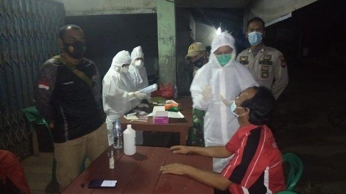 Tim Gabungan Satgas Covid-19 Kecamatan Jangkang Lakukan Operasi Yustisi