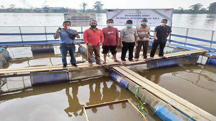 Astra Resmikan KBA Durian Berseri Sungai Raya, Tabur Bibit Budidaya Keramba Iklan Nila - yuyuyuyuyuyuuy.jpg