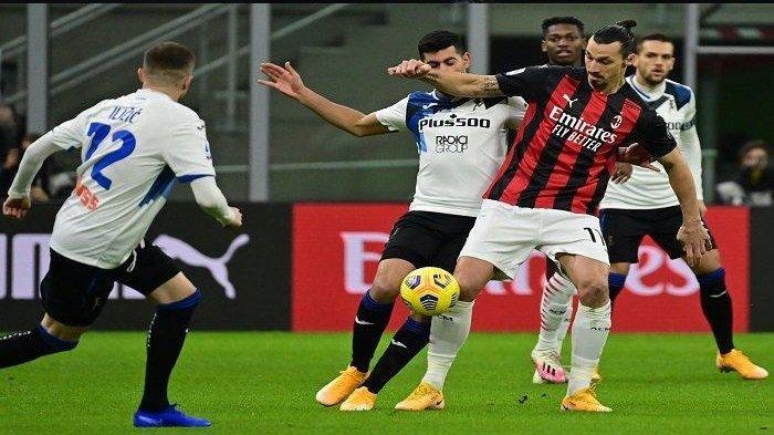 Susunan Pemain AC Milan Kontra Atalanta di Liga Italia Malam Ini, Rossoneri Tanpa Ibrahimovic