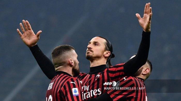 LIVE HASIL Fiorentina vs AC Milan Live RCTI Plus - Duel Frank Ribery vs Zlatan Ibrahimovic