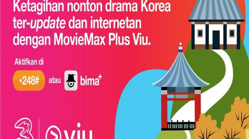 Cara Menggunakan Kuota Streaming 3 Moviemax Plus Viu Paket Streaming Murah Tri Mulai Rp 7 Ribu Tribun Pontianak