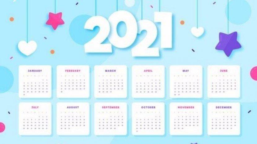 Kalender 2021 Tanggal Cantik Daftar Hari Libur Hari Raya Idul Fitri Dan Idul Adha Serta Ramadhan Tribun Pontianak