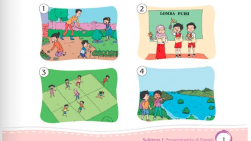 Kunci Jawaban Tema 5 Kelas 2 Halaman 15 17 18 19 20 Subtema 1 Pembelajaran 2 Pengalamanku Di Rumah Tribun Pontianak