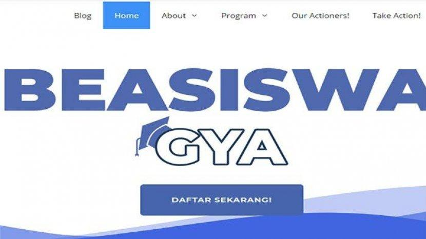 Apa Ada Contoh Cv Untuk Beasiswa Gya Beasiswa Global Youth Action Www Globalyouthaction Com Tribun Pontianak