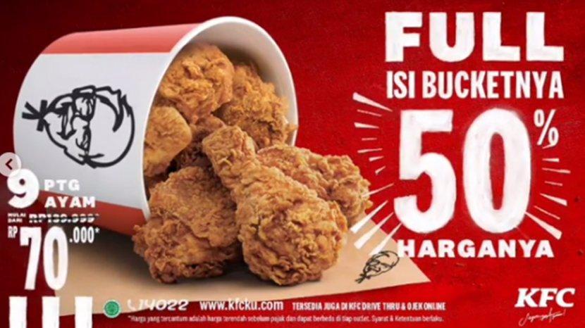 Promo Kfc Terbaru 9 November 2020 Kfc Special Deal 9 Potong Ayam Goreng Mulai Dari Rp 70 Ribu Saja Tribun Pontianak