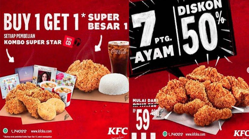 Promo Kfc Terbaru November 2020 Voucher Beli 1 Gratis 1 Super Besar Hingga 7 Potong Ayam Diskon 50 Tribun Pontianak