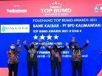 bank-kalbar-raih-top-bumd-award-2021.jpg<pf>bank-kalbar-raih-tiga-penghargaan-sekaligus.jpg