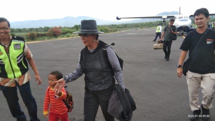 Hanya Lewat Lagu, Susi Pudjiastuti Akhirnya Liburan di Maumere