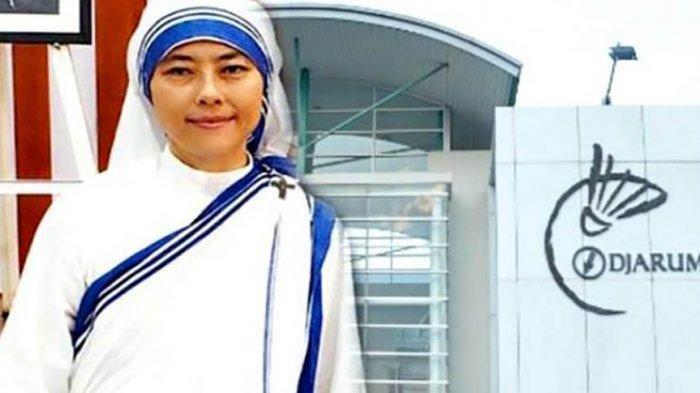 Biarawati Suster Lucy Agnes alias Maria Donna Dewiyanti Darmoko.