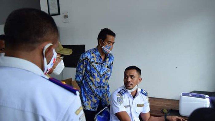 Darius Beda Daton, SH Kepala Perwakilan Ombudsman NTT melakukan sidak di instansi Pemerintah