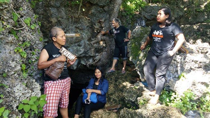 Lokasi Persembunyian Pasukan Jepang di Bolok Kupang NTT, Gua Kristal, Jadi Objek Wisata yang Diburu