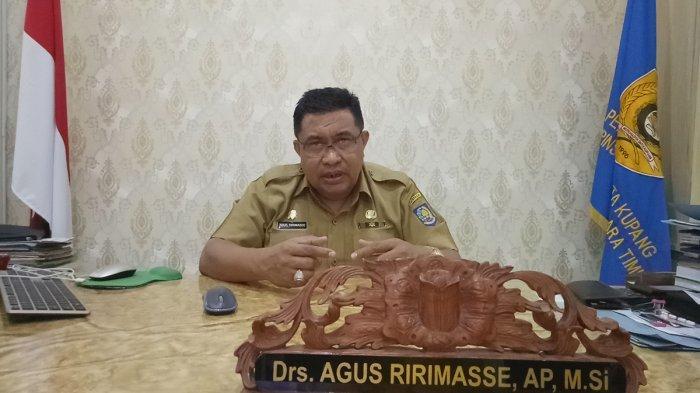 Biodata Agus Ririmasse Asisten I Sekda Kota Kupang