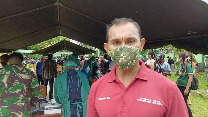 Kapten CKM Kandidus Oni, Kepala Urusan Tata Usaha dan Urusan Dalam Rumah Sakit Tentara Wirasakti Kupang atau Kaurtuud RST Wirasakti Kupang.