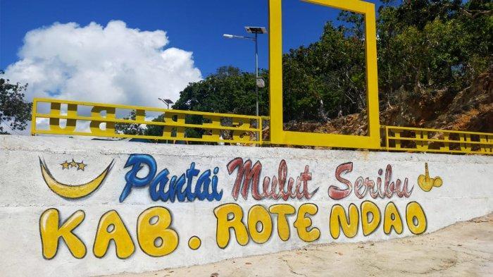 Lokasi wisata Pantai Mulut Seribu yang ada di Kabupaten Rote Ndao, Provinsi Nusa Tenggara Timur ( NTT ), Indonesia.