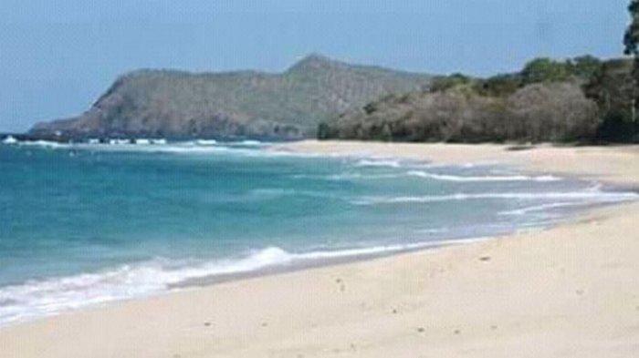 Pantai Mingar si Pantai yang Bisa Menghilang di Kabupaten Lembata