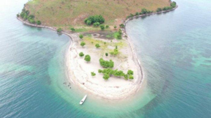 Keindahan Alam di Pulau Kinde, Nagekeo. Nusa Tenggara Timur. (Kita Untuk Indonesia/Ode Agung Wahyudin)