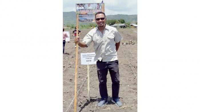 Yeremias Ontong, SP, Kepala Dinas Ketahanan Pangan dan Perikanan Kabupaten Manggarai Barat, Provinsi NTT