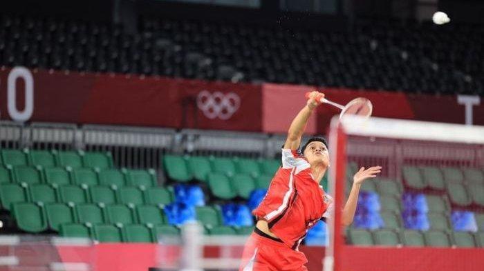 Menang Telak, Anthony Gintingke Perempat Final Olimpiade